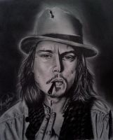 Johnny Depp by RashaBH