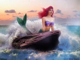Ariel cosplay - the little mermaid by Nxtures