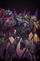 Transformers RID #15 cover colors by khaamar