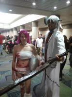 Megacon 2013 Lucy and Dr.Stein by Oblivion-Evil
