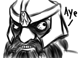 Gimli's face when by Dread555
