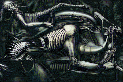 Giger revisited 3 by Vitaloverdose