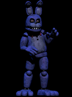 Unwitered bonnie Full Body Render by CoolioArt