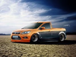 Ford Focus Pickup Convertion by RazoR-psg