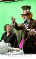 Behind the Scenes with Johnny by AliceInWonderland