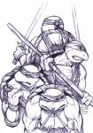 Daily Sketches TMNT by fedde