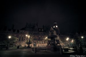 Leicester After Midnight by Auraomega