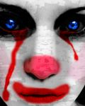 Crying Clown by Nightcryier