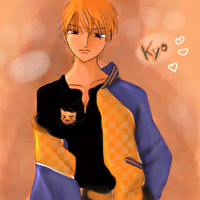 Kyo from Fruits Basket by Fanelia-Art