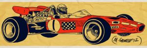 F1 - Lotus 49 by Insanemoe
