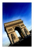 Arc de Triomph by tyt2000
