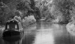 Cannal Boat by plangdon2