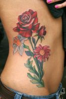 Spring Flowers on the Rib by Phedre1985