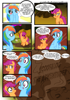 The Beginning p.5 Final - Scootaloo the Adventurer by alskylark