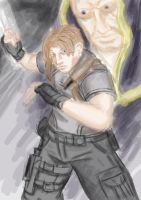 Leon S. Kennedy RE4 by DaemonStalley