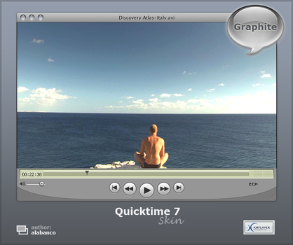 Quicktime 7 'graphite' by alabanco