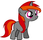FireWire Filly Vector by MaoMao27