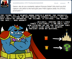 Ask Ganon - Link First? by pocket-arsenal