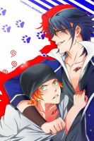 Fushimi and Yata by CoLdZeRo-X