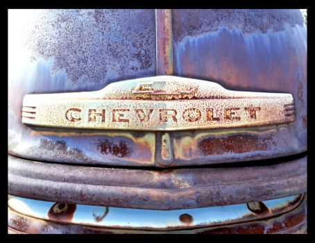 Early 1950's Chevy pickup emblem by Ashes-of-the-valiant
