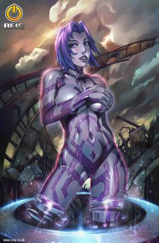 Halo's Cortana by reiq