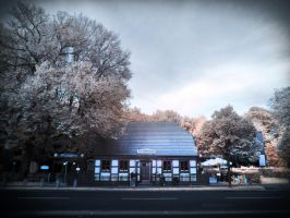 Alte Waldschaenke Berlin infrared by MichiLauke