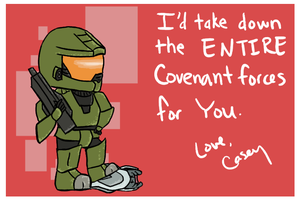Master Chief Valentine by CCNCC