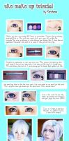 Tutorial - UKE cosplay make up by recchinon