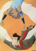 Makorra Week: Day 1 by wanda-soulmeetsbody