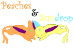 Peaches and Sundrop by Blizzard-Paww