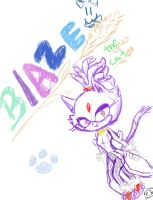 Blaze The Cat by minifiorella