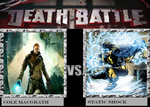 Cole VS Static Death Battle by Ghostdog123765