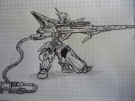 Sniper Mecha project by purplekero