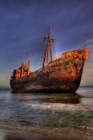 the shipwreck II by fokalexandris
