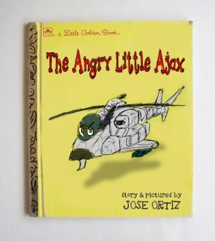 Angry Lil Ajax Book by Graphitedriver001