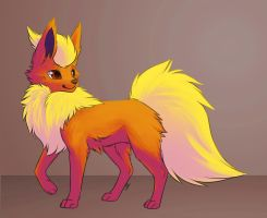 Flareon by Leeomon