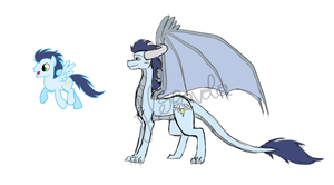 Soarin - Dragon design by floravola
