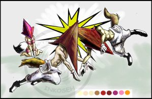 Pyramid Head is Rutting OhNoez by macawnivore