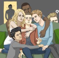 pack feels (teen wolf fanart) by Spheredra