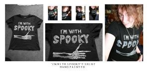I'm with Spooky Shirt by TheEpilogueOfLife