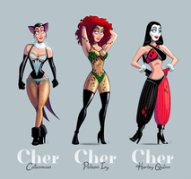 Holy Cher, Batman! by inkjava
