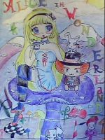 Anime Alice In Wonderland by Catzrock24