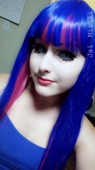 Stocking Anarchy [Makeup Test] -2- by AloisFancyTrancy