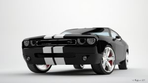 Dodge Challenger - studio 2 by AnalyzerCro