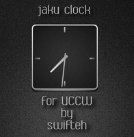 jaku clock for UCCW by ryan1mcq