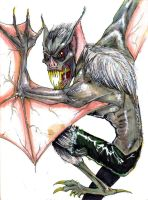Man Bat Man Bat Man Bat... by BluFioneX