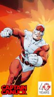 Captain Canuck IPhone Wallpaper - Classic Version by CanadianPeaceMaker