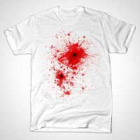 Blood spatter / bullet wound - Costume by mrsbadbugs