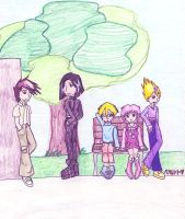 Code Lyoko: Just Hangin' Out by RikuFanGirl