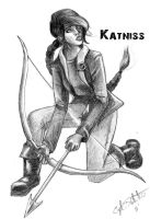 Katniss Everdeen by ZeePonj